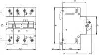 Дифференциальный автоматический выключатель ETI KZS-4M