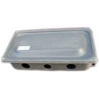 Коробка клеммная металлическая пылевлагозащищенная  ККС-8 ІР44