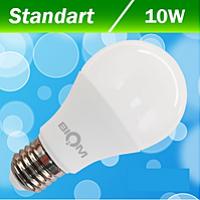 Светодиодная лампа Biom A60 ВТ 510 10W E27 4500 К матовая