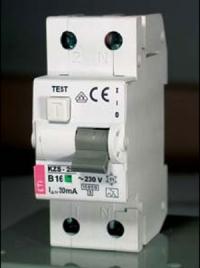 Дифференциальные автоматические выключатели ETI KZS-2M