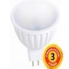 Лампа LedEx 3W, GU5.3(MR16), 4000К Premium (100136) мат. стекло чип: Epistar