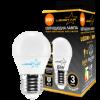 "LED лампа светодиодная 6W G45 E27 шарик ""Standart"" 510lm 4000К мат. стекло чип: Epistar ""LedStar"" 100620"