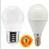 """LED лампа светодиодная 6W G45 E14 шарик """"Premium"""" 570lm 3000/4000К матовое стекло чип Epistar"""