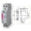 Контактор модульный R20-20 230V 20А 2НР ETI 2461210
