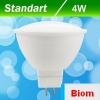 Светодиодная лампа Biom BT-541 MR16 4W GU5.3 360 лм 3000К матовая