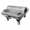 Зажим прут d16 / полоса / проволока d 8-10 Материал:  Нержавеющая сталь, Сталь горячеоцинкованная, Сталь гальванически оцинкованная.